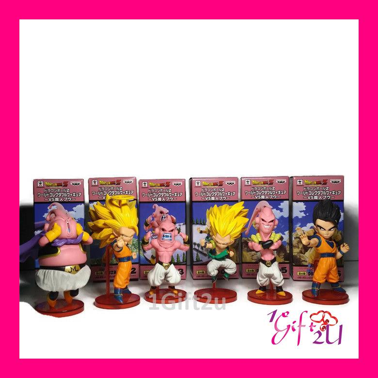 Dragon Ball 6 in1 Mini Collectible Action Figure Set