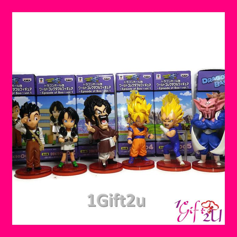 DragonBall 6in1 Series 2 Mini Action Figure Set