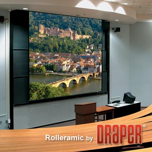 "Draper ""Rolleramic"" Heavy Duty Motorized Projector Screen - 20' x 20'"