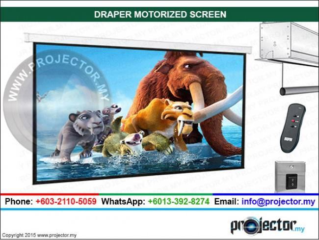 "DRAPER SALARA 16:9 HDTV FORMAT MOTORIZED SCREEN WSL 40.2"" x 71.5"""
