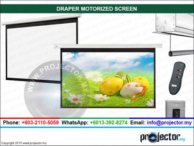 DRAPER SALARA AV FORMATE MOTORIZED SCREEN WSL 5' x 5'