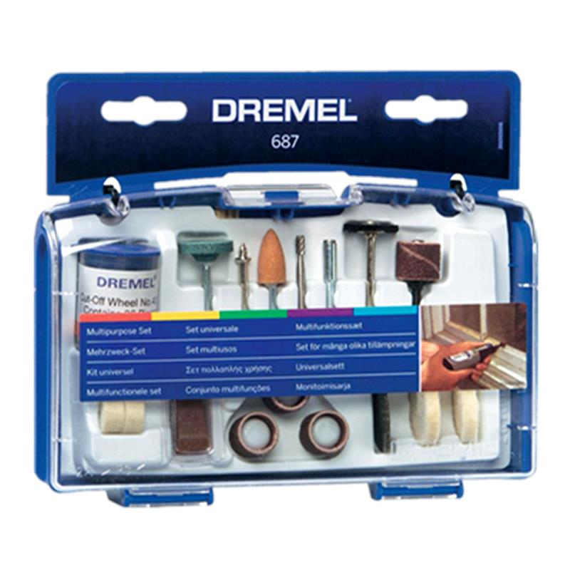 [New] Dremel 687 Multipurpose Set 52pcs