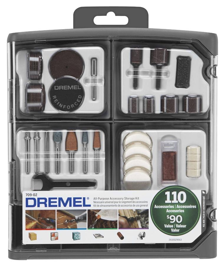 US Dremel 709-02 110-Piece All-Purpose Rotary Accessory Kit