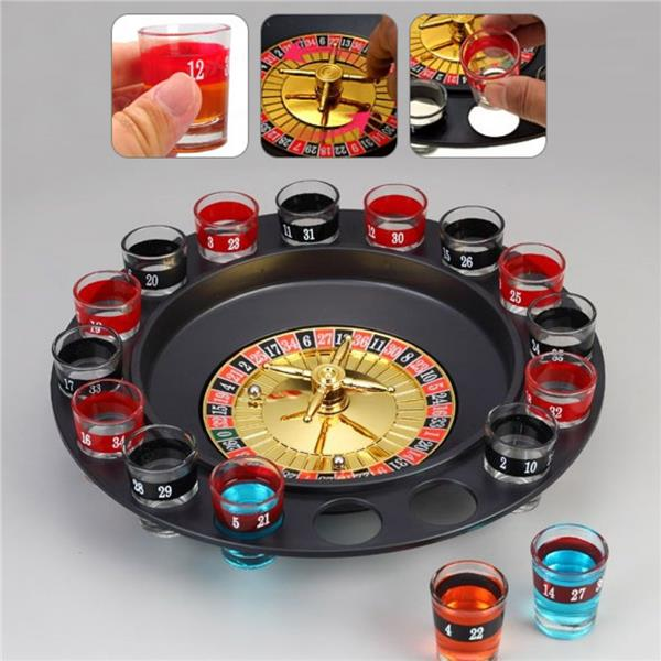 Drinkin Game Poker Chips Set