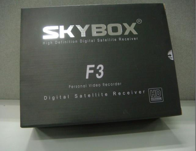 NEW DUAL CORE SKYBOX F3 HD SATELLITE RECEIVER 1 YEAR FREE CHANNEL