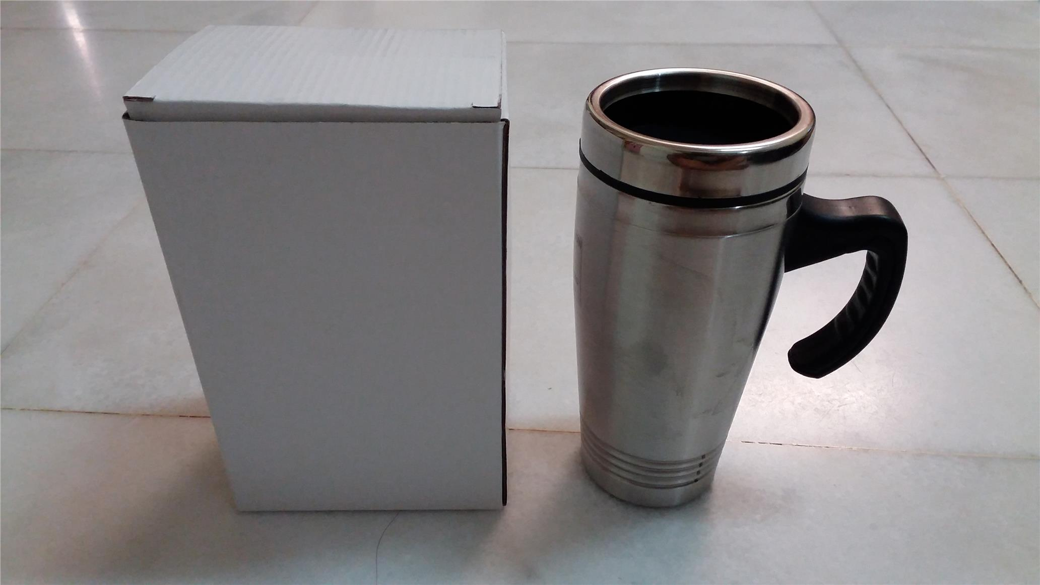 Dual Layer Stainless Steel Thermal Mug