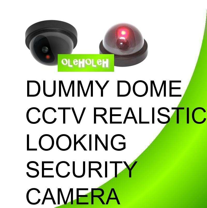 Dummy Dome CCTV Realistic Looking Security Camera