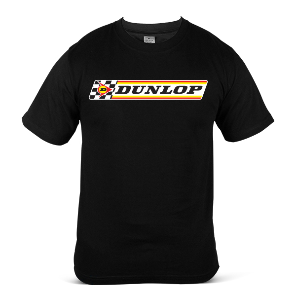 DUNLOP Car Motorcycle Bike Racing Tyre Tire Unisex Casual T-Shirt 1