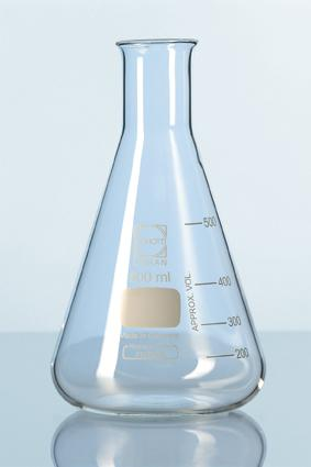 DURAN® Erlenmeyer Flask 50ml with Graduation Germany- Conical flask
