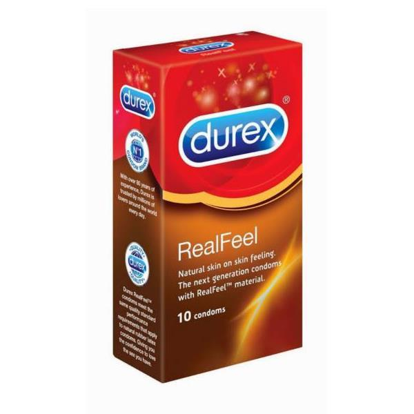 Durex Real Feel 10s Condoms (Kondom)