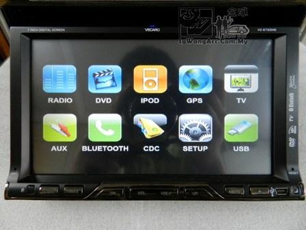 DVD Double Din Head Unit Player (Kuala Lumpur, end time 2/26/2012 10