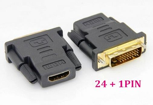 DVI-D Male to HDMI Female Adapter