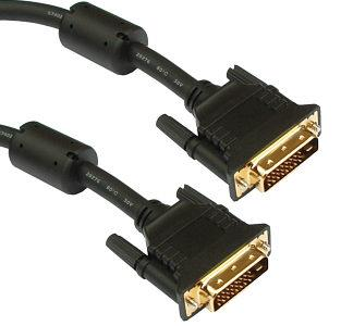 DVI (M) TO DVI (M) 24+1 CABLE, 1.8M, 1854