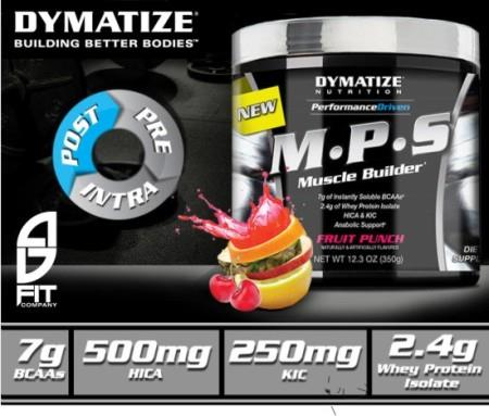 Dymatize MPS ( 7Gram BCAA+WHEY ISOLATE+MUSCLE BUILD) 20 Serv RM80