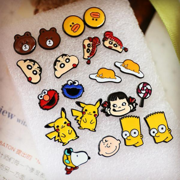 E0348 K STYLE CARTOON EARRING