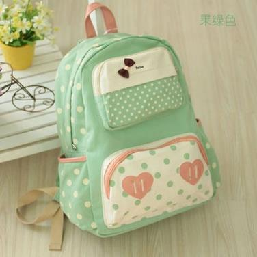 E210-Apple Green  Handbag, Backpack, Laptop Notebook iPhone Tablet Beg