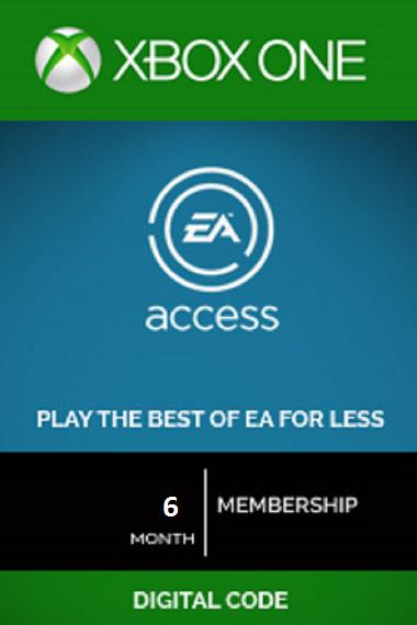 EA Access Card Xbox One 6 Month (SOLD OUT)
