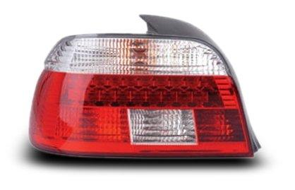 EAGLE EYES BMW E39 4D '95-00 RED/CLEAR LED Tail Lamp [TL-004-BMW]