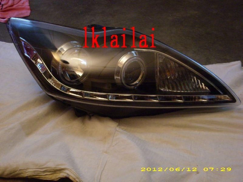 EAGLE EYES FORD FOCUS '08-'10 CCFL Projector Head Lamp [DRL R8 LED]