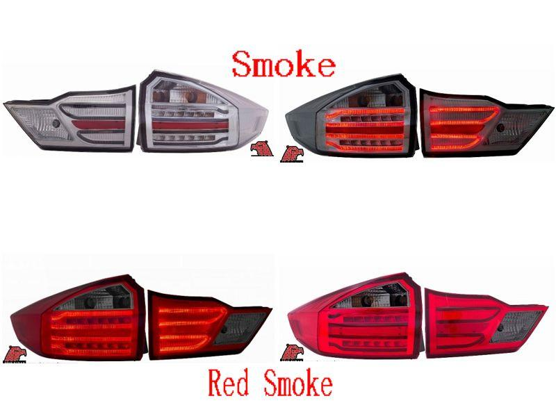 Eagle Eyes Honda City '14 Smoke LED Light Bar Tail Lamp