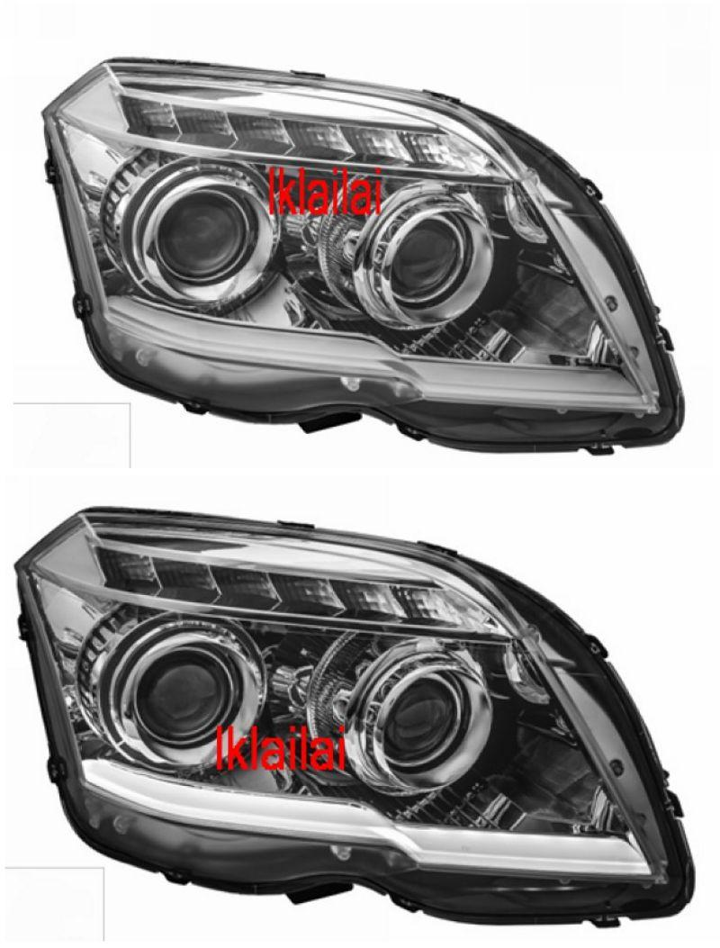 EAGLE EYES Mercedes Benz GLK '12 PROJECTOR HEAD LAMP [Bar DRL]