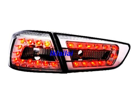EAGLE EYES Mitsubishi Lancer '09 LED Tail Lamp Smoke Lens [TL-169-1]