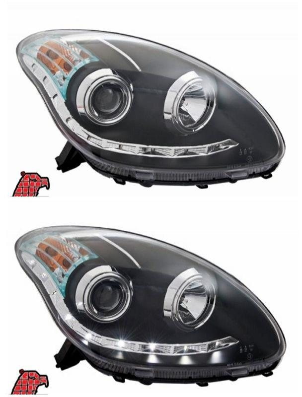 EAGLE EYES MYVI '05 LED DRL R8 Projector HEAD LAMP [HL-101-1]