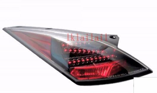 EAGLE EYES Nissan Fairlady 350Z Tail Lamp Crystal LED Black  [TL-118]