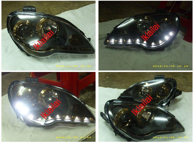 EAGLE EYES PROTON GEN2 /Persona Projector Head Lamp Titanium R8