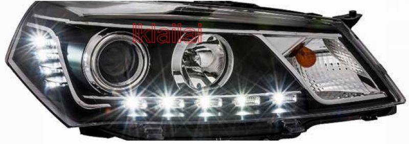 EAGLE EYES SAGA FL LED DRL R8 Projector Head Lamp