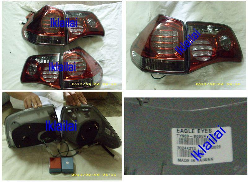 EAGLE EYES Toyota Harrier /LEXUS RX330 '04-06 LED Tail Lamp