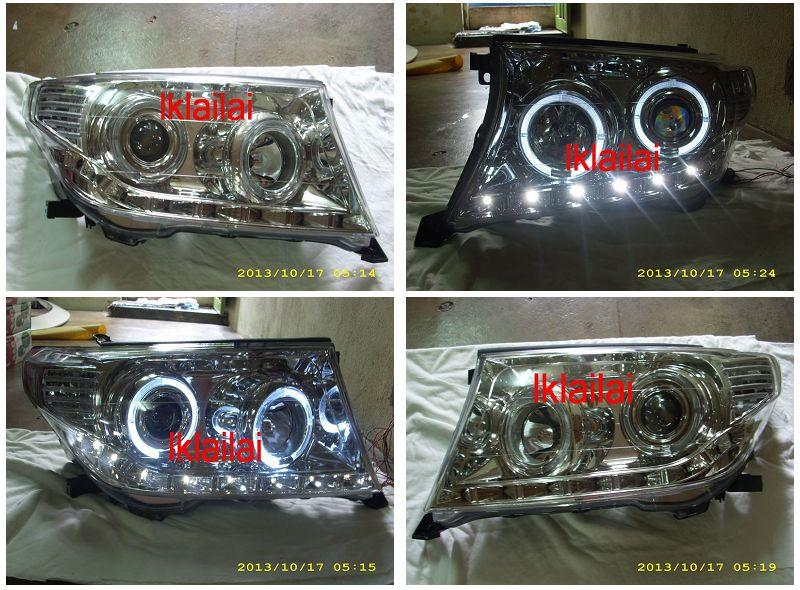 EAGLE EYES Toyota Land Cruiser FJ200 '08 Projector Head Lamp DRL R8