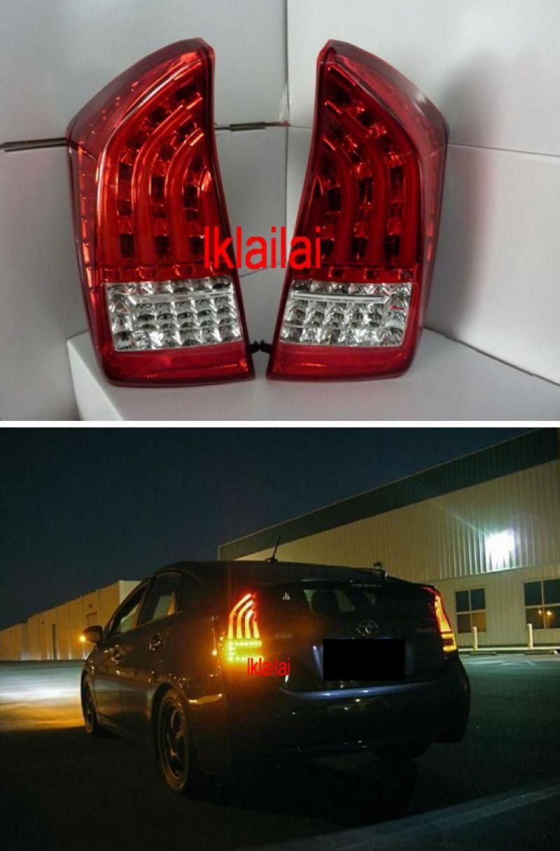EAGLE EYES TOYOTA PRIUS 08-13 LED Light Bar Tail Lamp  [Red-Clear]
