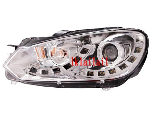 Eagle Eyes VOLKSWAGEN GOLF 6 '08-10 Projector Head Lamp [CCFL Ring + L