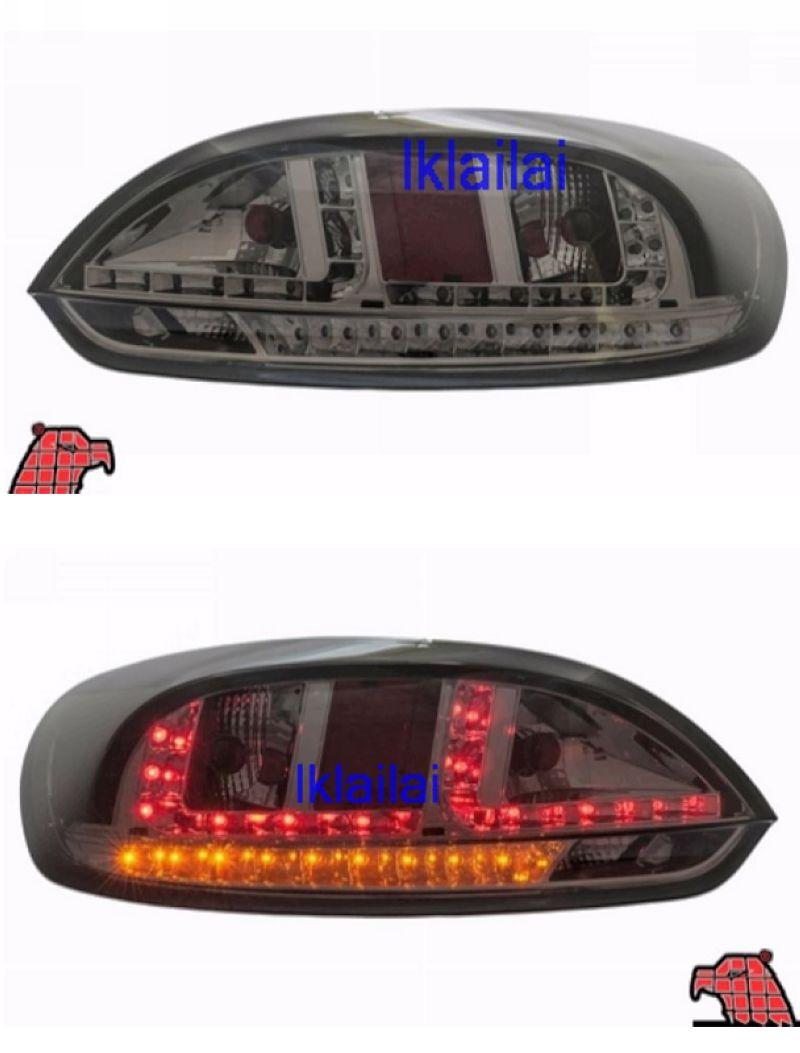 EAGLE EYES Volkswagen Scirocco `09-12 LED Tail Lamp Smoke [TL-194]