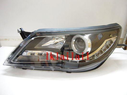 Eagle Eyes VOLKSWAGEN TIGUAN '07 Projector Head Lamp (CCFL Ring + LED
