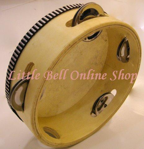 Early Childhood Percussion Wooden Tambourine