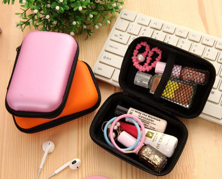 Earphone Cable Key Travel Storage Pouch Organizer
