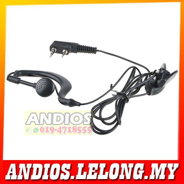 Earphone Handsfree For BAOFENG/KENWOOD/TYT Walkie Talkie
