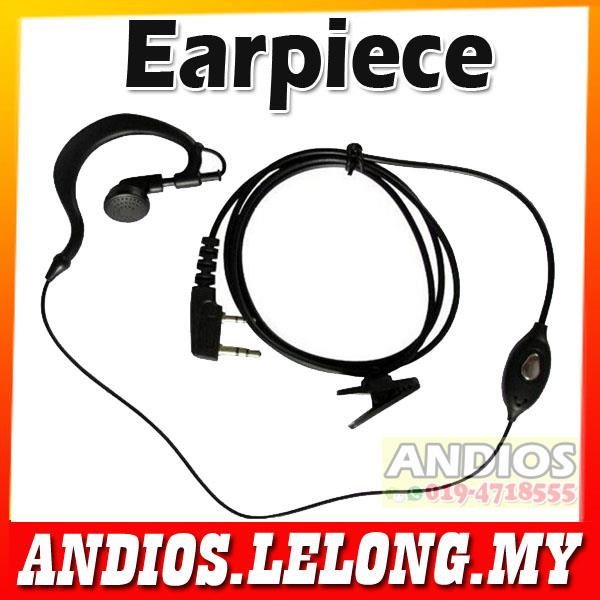 Earpiece Earphone Handsfree BAOFENG/KENWOOD/TYT Walkie Talkie handset