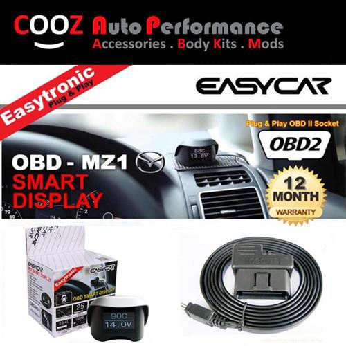 EASY CAR 10 IN1 OBD II SMART DISPLAY MONITOR MAZDA 6
