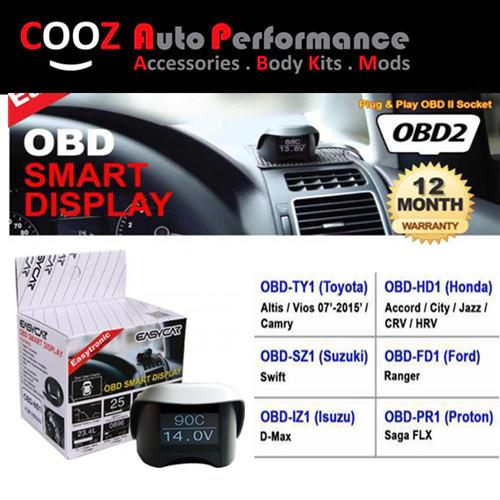 EASY CAR 10 IN1 OBD II SMART DISPLAY MONITOR PROTON PERSONA