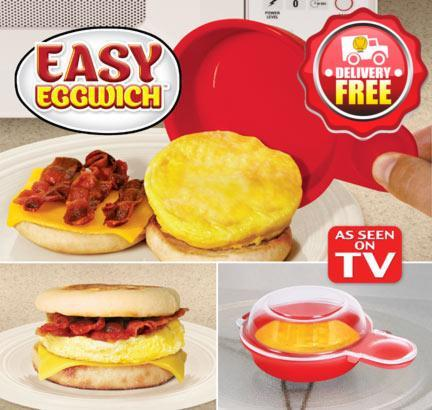Easy Eggwich Microware Egg