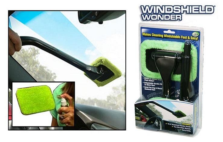 Easy Reach WINDSHIELD WONDER Car Wind Shield Microfiber Cleaner Cloth