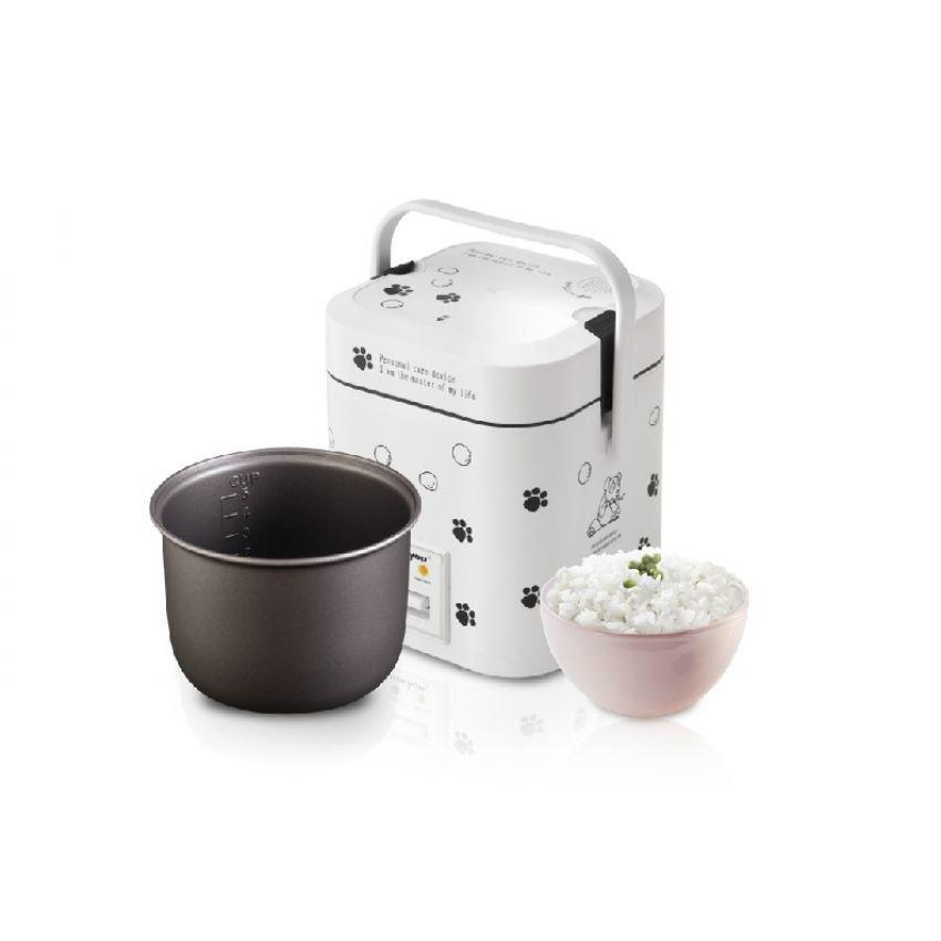 Easy Rice Cooker Portable & Convenient to Travel  (1.2L)