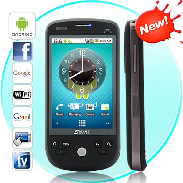 Eclipse Novus - Dual SIM Android 2.2 Smartphone with Capacitive Touchs
