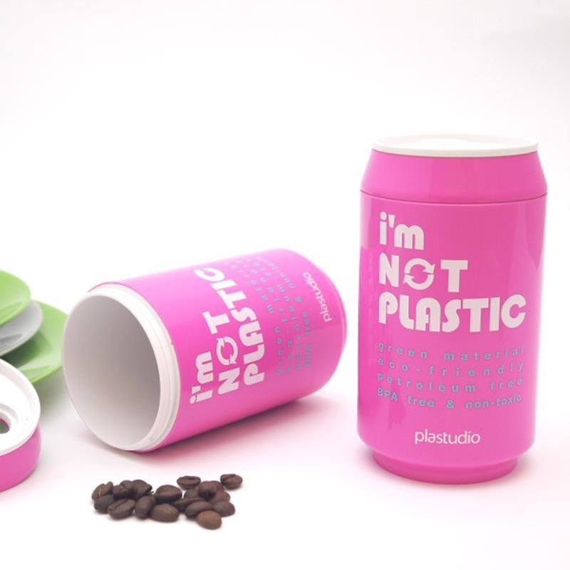 Eco Can-280ml,Pink, Travel Mug, plastic-free