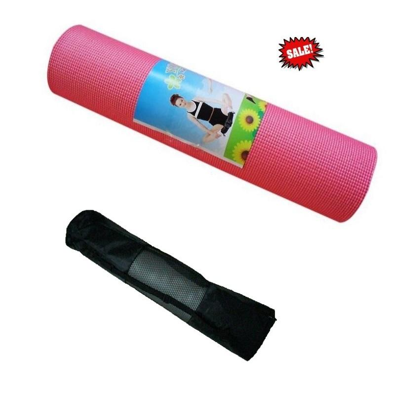 ECOSPORT Durable 6MM Yoga Mat with (end 3/25/2018 10:15 AM)