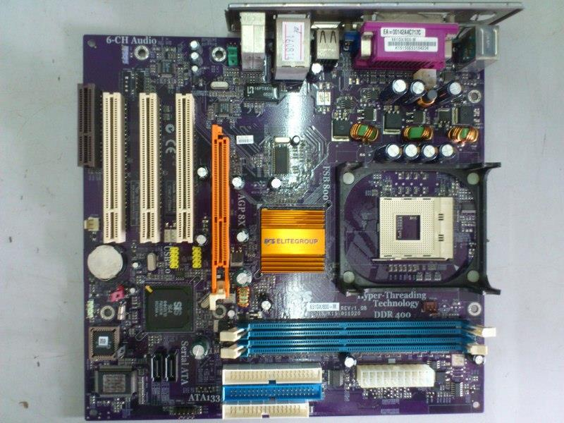 ECS 661GX/800-M Intel Socket 478 Mainboard 160814