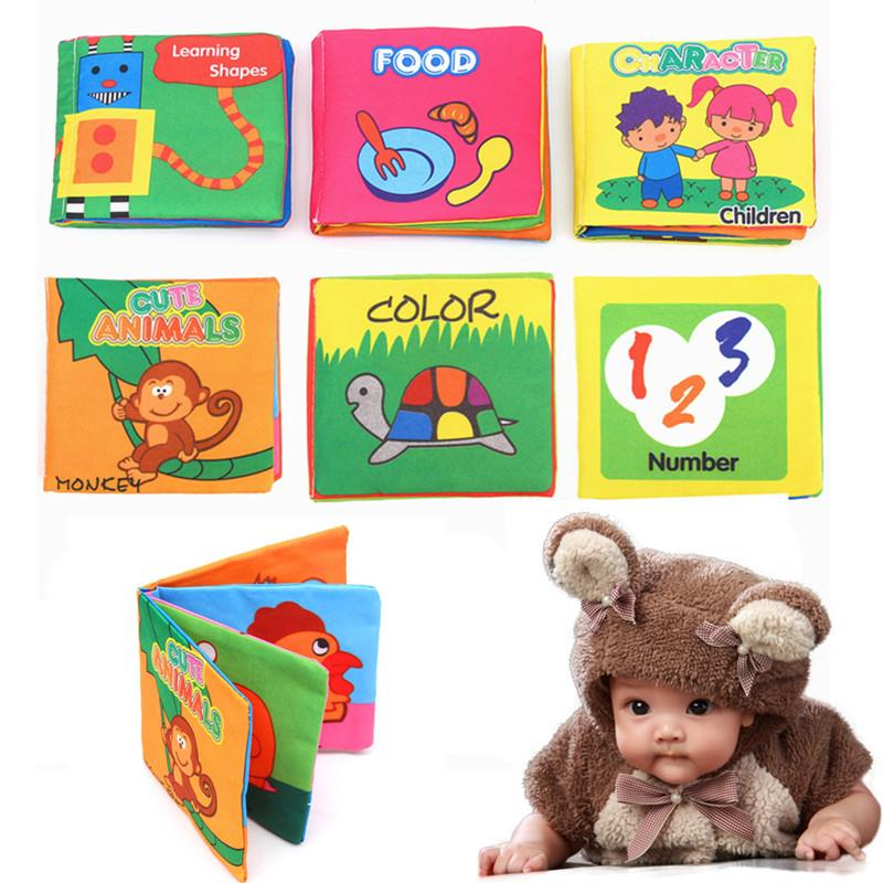 Educational Intelligence Development Soft Cloth Learn Cognize Book Fo.